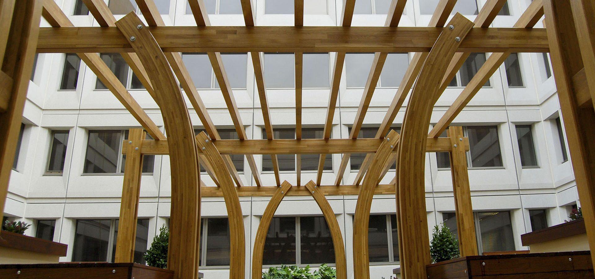 unikatowa drewniana konstrukcja - Jagram-Pro S.A. Francja, Monako