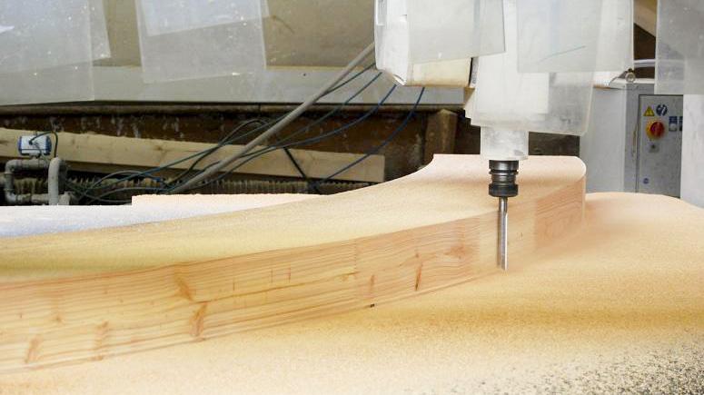 cnc drewno klejone