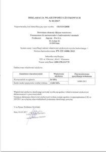 Deklaracja własności użytkowych