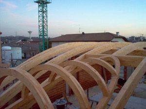 lukarna drewno klejone warstwowo