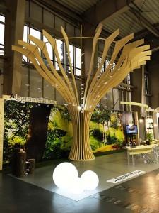 drzewo konstrukcja drewniana z drewna klejonego warstwowo
